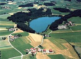 Höllerersee Luftaufnahme