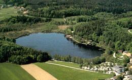 Holzöstersee Luftaufnahme