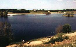 Baggersee Ranftl bei Mühlheim