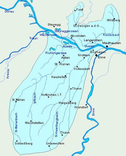 Revierkarte Donau C