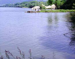 Donau bei Linz Plesching