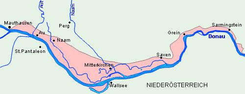 Revierkarte Donau-Perg