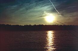 Donau am Abend