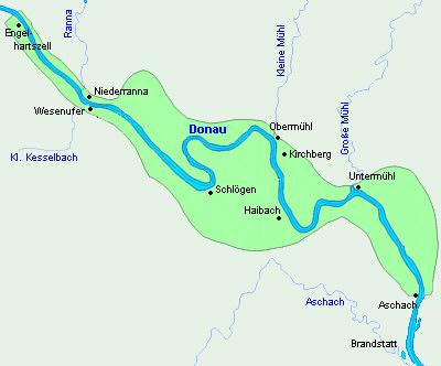 Revierkarte Donau-Rohrbach