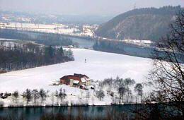 Enns im Winter