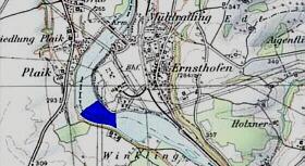 Karte der Enns