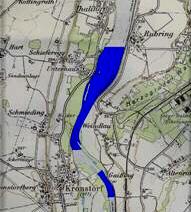Karte von Ennsfluss bei Kronstorf