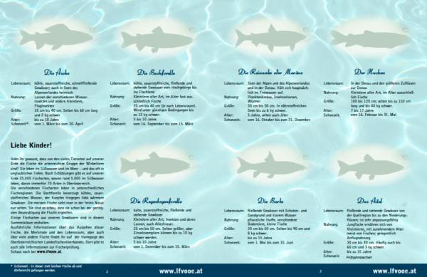 Stickeralbum Fische in Österreichs Gewässern
