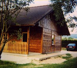 Fischerhütte am Urlsee