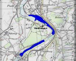 Karte Ennsfluss unterhalb von Staning (Vereinswasser / ASV-Steyr)